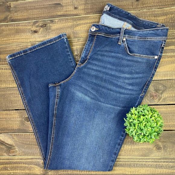 Torrid Luxe Slim Boot Hi Rise Jeans Sz 24 Tall